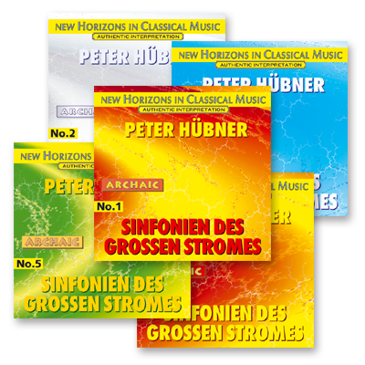 Peter Hübner - No. 1 – No. 5 · 5 CDs