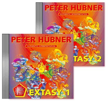 Peter Hübner - 108 Hymns of the Dancing Dragon - EXTASY 1 & 2 · 2 CDs