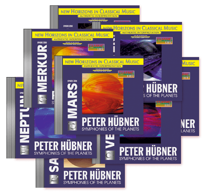 Peter Hübner - Symphonies of the Planets - 8 CDs