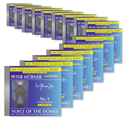 Peter Hübner - Voice of the Domes No. 1 - 1st Meditation – 16th Meditation · 16 CDs