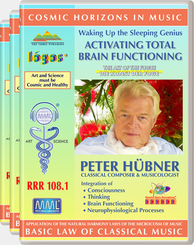 Peter Hübner - Waking Up the Sleeping Genius<br>RRR 108 No. 1-3