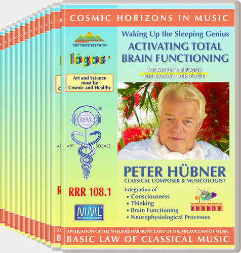 Peter Hübner - Waking Up the Sleeping Genius<br>RRR 108 No. 1-12