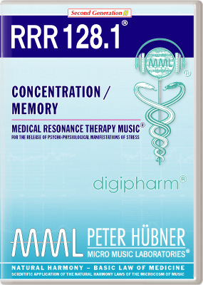 Peter Hübner - Medical Resonance Therapy Music(R) RRR 128 Concentration / Memory • Nr. 1