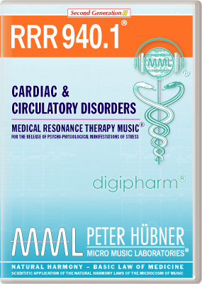 Peter Hübner - Medical Resonance Therapy Music(R) RRR 940 Cardiac & Circulatory Disorders • Nr. 1