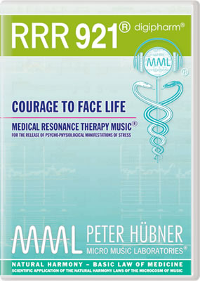 Peter Hübner - RRR 921 Courage to Face Life