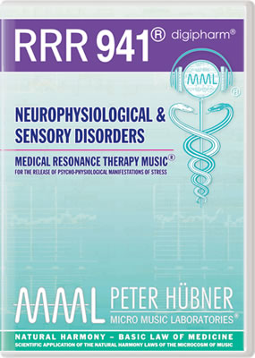 Peter Hübner - RRR 941 Neurophysiological & Sensory Disorders