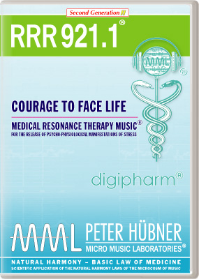 Peter Hübner - RRR 921 Courage to Face Life • Nr. 1