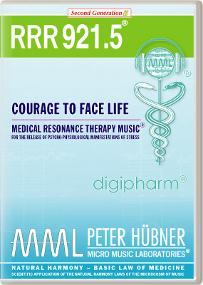 Peter Hübner - RRR 921 Courage to Face Life • Nr. 5