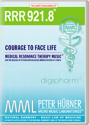 Peter Hübner - RRR 921 Courage to Face Life • Nr. 8