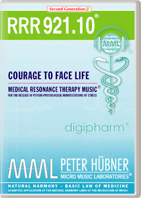 Peter Hübner - RRR 921 Courage to Face Life • Nr. 10