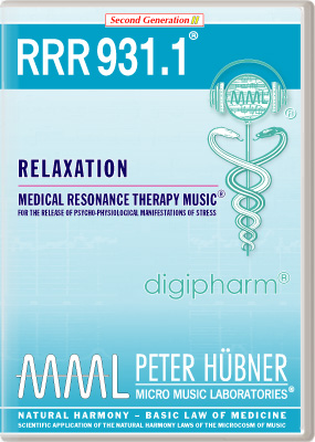 Peter Hübner - RRR 931 Relaxation • No. 1