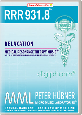 Peter Hübner - RRR 931 Relaxation • No. 8
