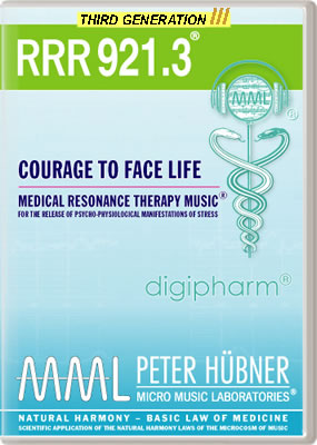 Peter Hübner - RRR 921 Courage to Face Life No. 3