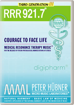 Peter Hübner - RRR 921 Courage to Face Life No. 7