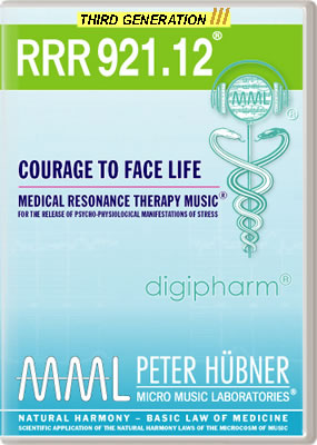 Peter Hübner - RRR 921 Courage to Face Life No. 12
