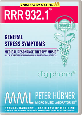 Peter Hübner - RRR 932 General Stress Symptoms No. 1