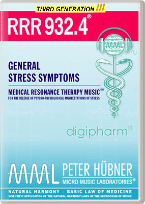 Peter Hübner - RRR 932 General Stress Symptoms No. 4