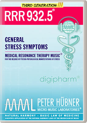 Peter Hübner - RRR 932 General Stress Symptoms No. 5
