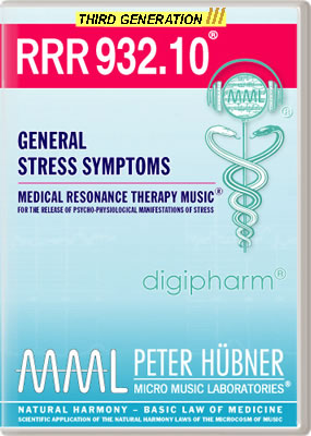 Peter Hübner - RRR 932 General Stress Symptoms No. 10
