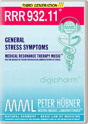 Peter Hübner - RRR 932 General Stress Symptoms No. 11