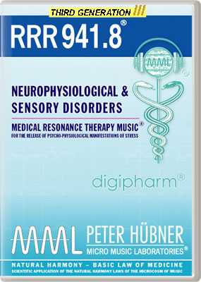 Peter Hübner - RRR 941 Neurophysiological & Sensory Disorders No. 8