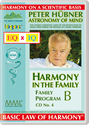 Peter Hübner - Harmony in the Family B - CD No. 4
